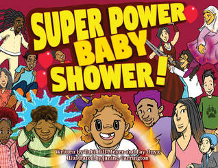 Book Cover: Super Power Baby Shower